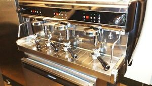 Espresso Cappuccino Machine Sorrento Triple Head
