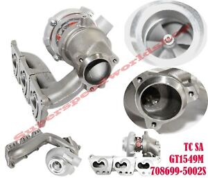 Replacemetn Turbocharger Gt1549 708699 5002s For 02 03 Saab 9 5 Arc3 0t V6 200hp