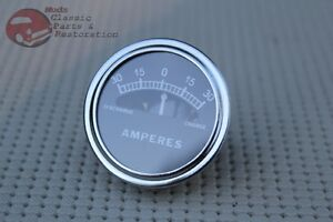 Model A Instrument Panel Amp Meter Guage Dial 30 0 30 Hotrod Custom Car Truck