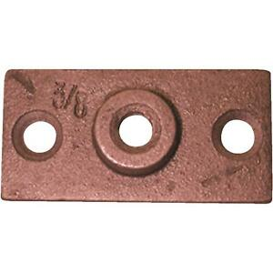 3 8 Copper plated Ceiling Flange