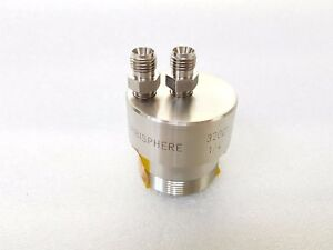 Hach Ultra Analytics 32001 011 Flow Pressure Chamber For An Orbisphere Sensor