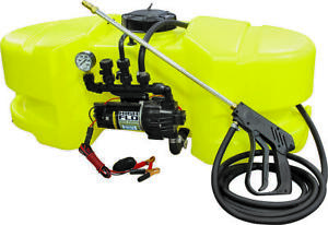 Ag South Gold Sc25 atv dx t ns Atv Sprayer 25 Gal Polyethylene Tank