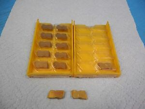 13pcs New Kennametal 325976r00 Kc850 Top Notch Inserts Metalworking Tooling Usa