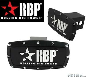 Rbp 2 Black Powder Coated Aluminum Trailer Towing Hitch Receiver Cover Truck