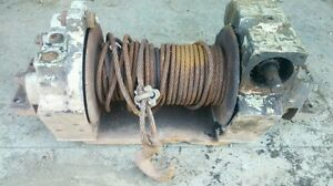 1967 69 M715 M725 M724 Ambulance Pick Up Truck Jeep Kaiser Braden Pto Winch Lu4