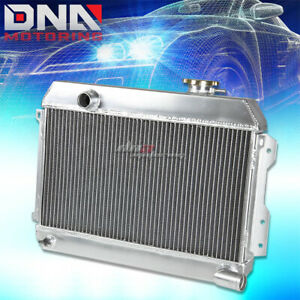 For 68 73 Nissan Datsun 510 1600 521 Pickup Truck 3 Row Core Aluminum Radiator