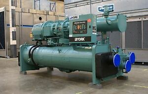 1998 180 Ton York Ys Water cooled Chiller 460 Volts R 22 Screw Liquid Chiller