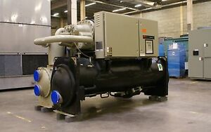 Price Reduction 2000 300 Ton Trane Rthc Water cooled Chiller 575 Volts R 134a