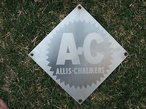 sale Allis Chalmers Transformer Stainless Steel Sign