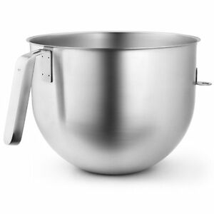 New Kitchenaid Commercial 7 Qt Bowl For Stand Mixers Ksmc7qbowl Stainless Steel