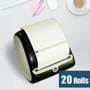 20 Rolls 4x6 Thermal Shippinng Labels 1744907 Compatible Dymo Labelwriter 4xl