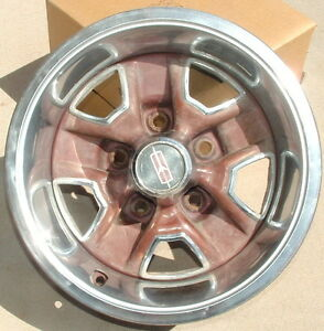 70 S 80 S Cutlass 14 Ralley Wheel Ssii Or Ssiii Used Oem 4805