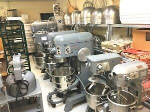 Mixer 60 Qt 2 4 Speeds Units Best For Bread Pizza Dough