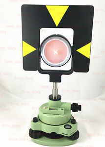 Brand New Single Prism Set For Leica Total Stations Offset 0mm