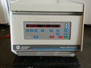 Beckman Coulter Allegra 21r Refrigerated Benchtop Centrifuge Very Clean