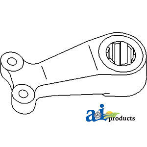 Compatible With John Deere Center Steering Arm R51121 4760 w o Mfwd 4755 w o