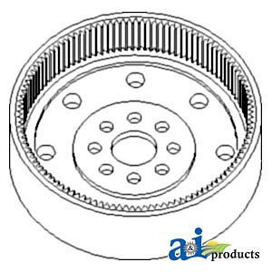 Compatible With John Deere Gear L40010 3651 zf Mfd Axle 3650 w 4wd Apl350