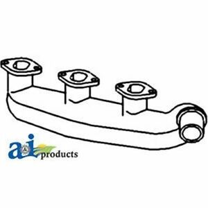 John Deere Parts Manifold Exhaust T20252 830 3 Cyl w 3 Cylinder Diesel Engi