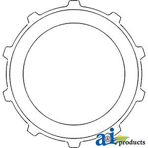 Compatible With John Deere Plate T28665 2840 sn 288761 2640 w Ind Pto Sn
