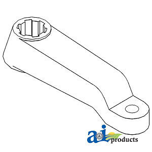 Compatible With John Deere Steering Arm Lh R49851 4760 4755 4650 4640 4630 4560