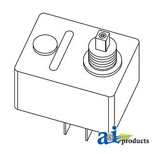 Compatible With John Deere Switch Flasher Control Ar64422 990 970 950 900hc 870