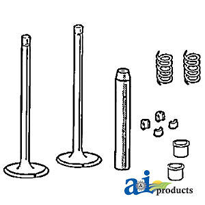 John Deere Parts Valve Train Kit Vtk4310 2520 sn 275483