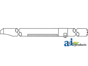 Compatible With John Deere Unloading Auger Tube Ah145050 9750sts 20 solid
