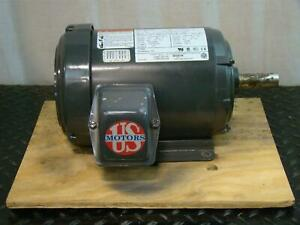 Us Motor 1hp 1755rpm 208 230 460v 3 U1p2d Cj37