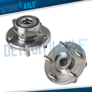 For 2009 2015 2016 Dodge Journey Pair 2 Front Wheel Bearing And Hub Assembly