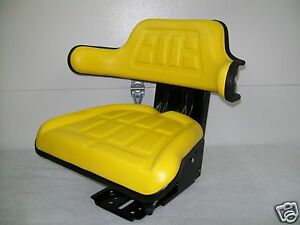 Suspension Seat John Deere Tractor Yellow 1530 2020 2030 2040 2155 Jd ie