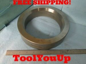 Heat Treated Ring Gage Blank 6 277 Inside Diameter 8 289 Outside Dia 2 Thick