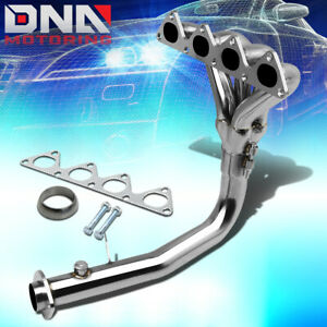 Stainless Steel 4 1 Header For 92 93 Acura Integra B18a1 Da Db Exhaust Manifold