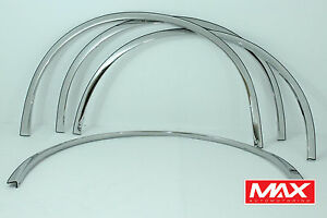 Ftca201 2000 2010 Cadillac Deville dts Polished Stainless Steel Full Fender Trim