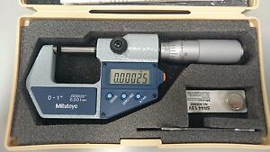 Mitutoyo 0 1 mm Digimatic Outside Micrometer