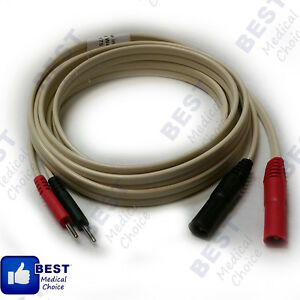 Lead Wire For Richmar Muscle Stim Electrotherapy Units And Ultrasound