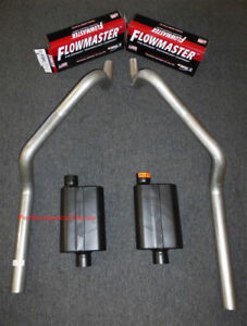 67 81 Chevrolet Camaro 3 Mandrel Bent Dual Exhaust Flowmaster Super 44