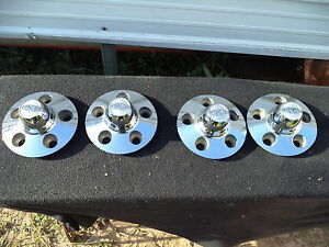 Cragar Wheel Center Cap 14 15 29161 4 3 4 Metal Set Of 4 Caps