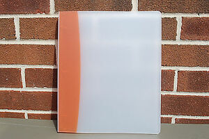 Avery 1 2 Style Edge Presentation Binders White And Orange Lot Of 12 S5034