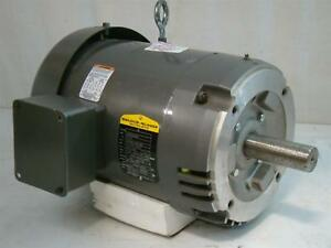 Baldor Reliancer Industrial Motor 5 7 5hp 190 380 230 460v 37k272x076g1
