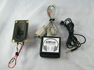 Mini bank 1000 Atm Atmtalk Atm Talk Speech Technology Module Part B456