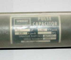 High Voltage Pulse Capacitor 63uf 1 92kv Peak Voltage 630a Peak Current