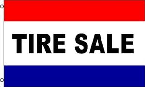 Tire Sale Flag 3x5 Ft Business Advertising Sign Banner Car Truck Auto Store Shop