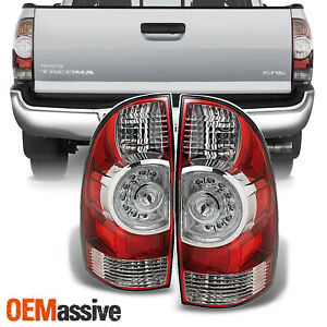 Fits 09 15 Toyota Tacoma Tail Lights Brake Lamps Taillight Aftermarket 2009 2013
