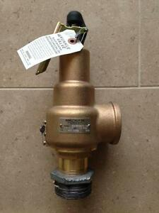 Kunkle Pressure Relief Valve Size 1 1 2 1 5 Model 6010hgm02 nm0013 New