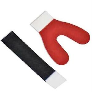 Articulating Paper Blue red Horseshoe 72 pack