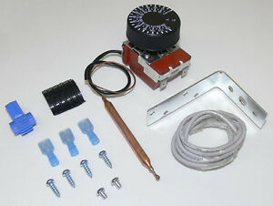 Electric Fan Switch With Thermostat Adjustable
