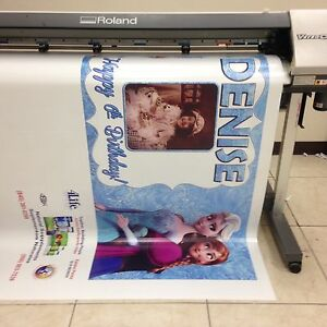Customize Banner 3 X 6 Full Color