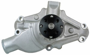 New High Flow Short Neck Aluminum Water Pump For Small Block Chevy Engines