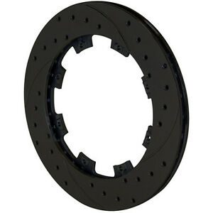 Wilwood 160 7099 bk Racing Brake Rotor 6x6 25 81 x11 drilled