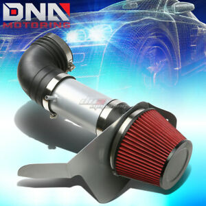 For 06 07 Cadillac Cts V Ls2 Silver Polished Silver Cold Air Intake Heat Shield